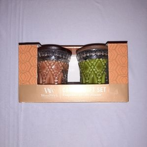 🧡NIB!💚 Wood Wick Candle Gift Set